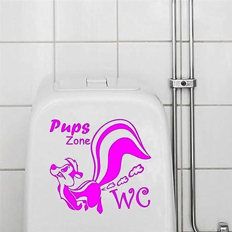 Adhesivos de pared Aseo Baño WC Habitaciones Decoraciones ...