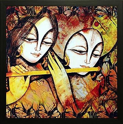 SAF Radha krishna Krishna Painting || krishna painting || Krishna poster || Krishna  sc 1 st  Amazon.in & SAF Radha krishna Krishna Painting || krishna painting || Krishna ...