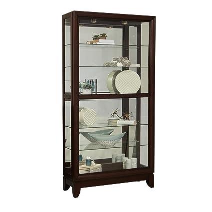 Ordinaire Pulaski Large Two Way Sliding Door Curio Cabinet, 42u0026quot; ...