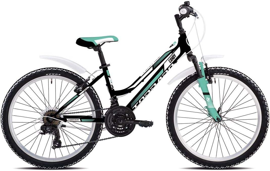 TORPADO - Bicicleta de montaña Infantil Candy de 24 Pulgadas, 3 x ...