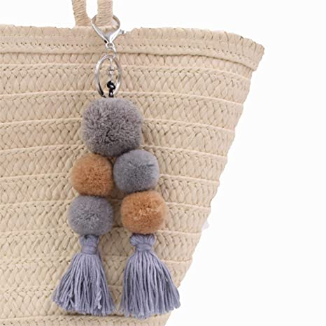 Amazon.com: YPT - Cadenas para llaves de lana, 1 unidad ...