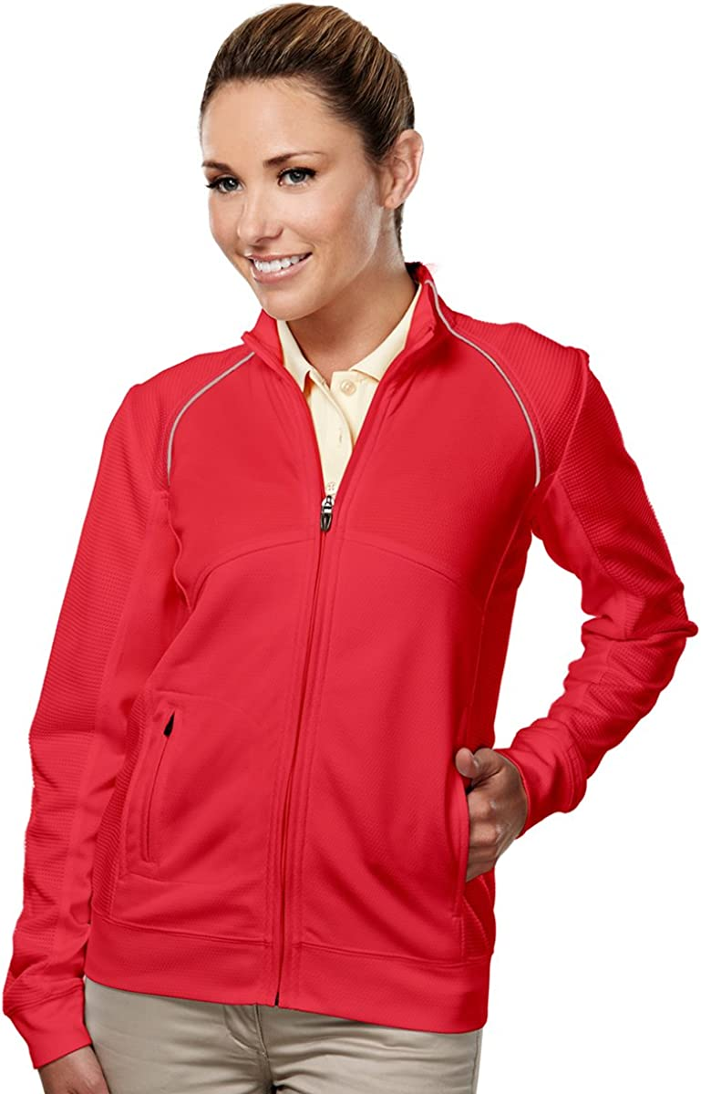 4 Colors Tri-Mountain Womens Polyester Mesh Thermal Knit Lightweight Jacket