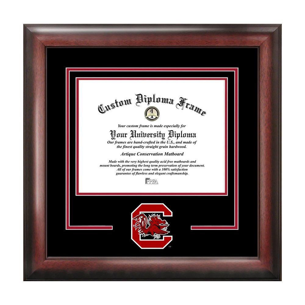 Campus Bilder Universität von South Carolina Spirit Diplom Rahmen ...