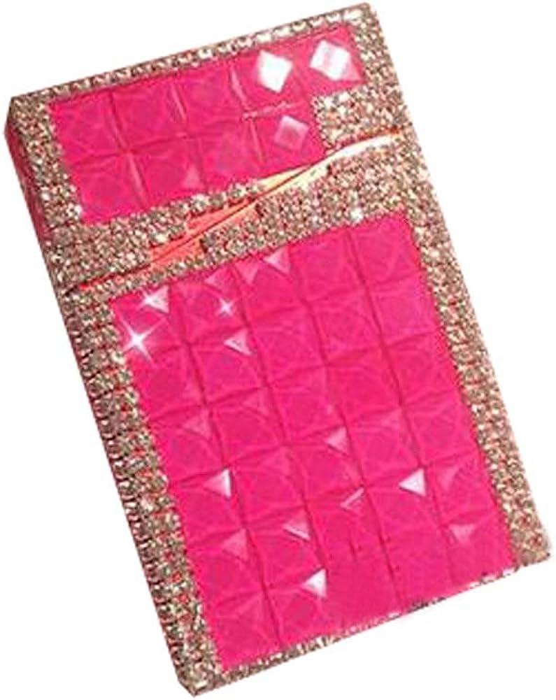 Black Temptation Caja del cigarrillo de las mujeres Caja/Cigarrillo de diamantes de imitación Caja regalo creativo, A3: Amazon.es: Ropa y accesorios