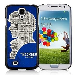 Customized Case Sherlock Holmes Iphone 5C Black Cell Phone Case