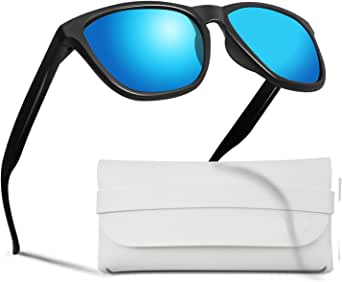 Polarized Sunglasses for men and women, Color Mirror Lens Sunglasses