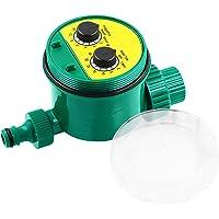 Romacci Controlador de irrigação de água inteligente Tipo botão Temporizador de irrigação de jardim Temporizador de…