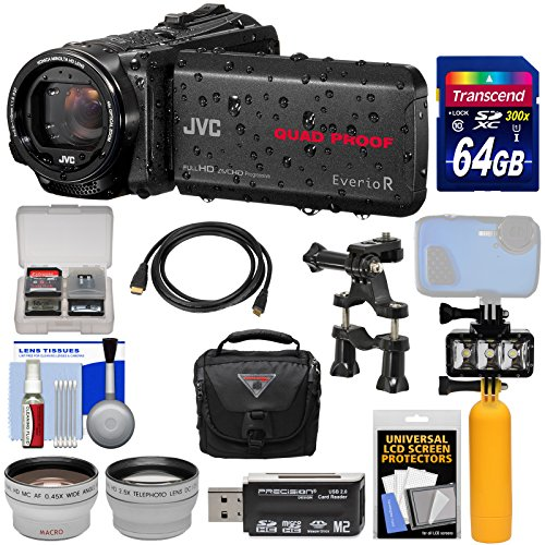 JVC Everio GZ-R550 Quad Proof Full HD 32GB Digital Video Cam