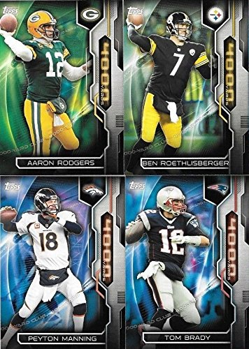 2015 Topps NFL Football 4000 Yard Club Series Complete Mint 11 Card Insert Set Complete M (Mint)