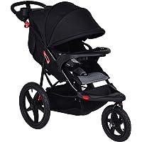 Costzon Baby Jogger Stroller Lightweight w/Cup Phone Holder (Black)