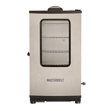 2. Masterbuilt 20070311 40-Inch Top Controller Electric Smoker with Window and RF Controller