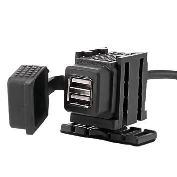 ONEVER 12-24 Impermeable del USB de la Motocicleta 2.1A ...