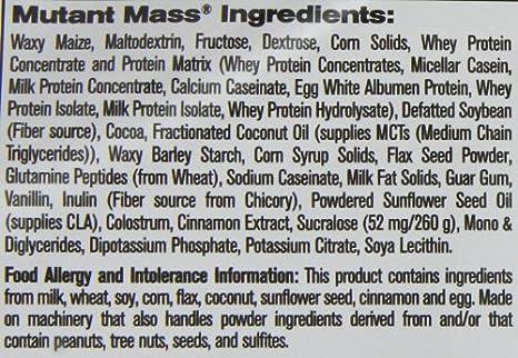 Mutant Mutant Mass Triple Chocolate - 2200 gr: Amazon.es ...