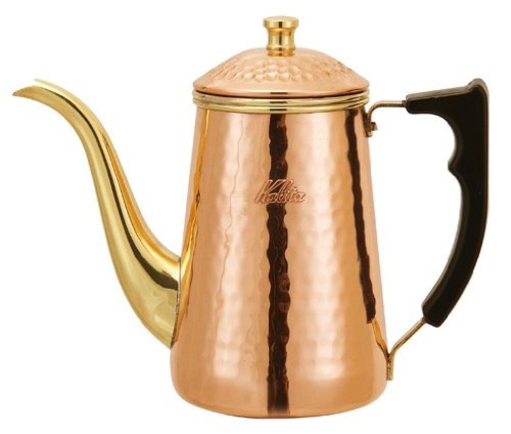 Kalita Copper Pot 0.7L # 52019 for Great Coffee