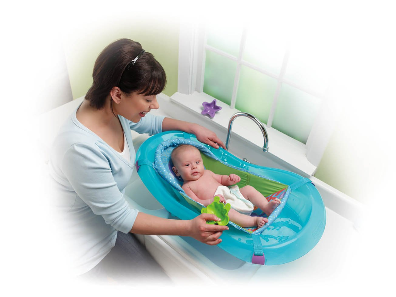 Fisher-Price Aquarium Bath Centre: Amazon.co.uk: Baby