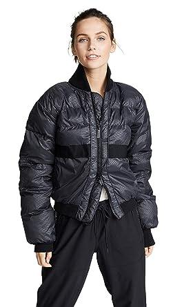 346e0bd3ee615 adidas by Stella McCartney Women's Essentials Short Padded Jacket, Black,  Medium