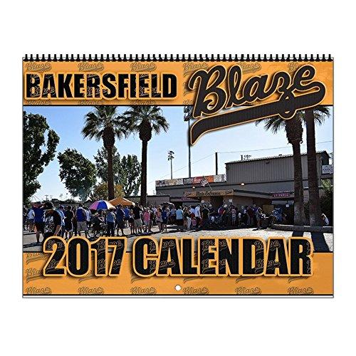 CafePress - Blaze - 2017 Wall Calendar, Quality High-Gloss P