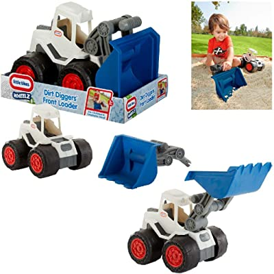 Little Tikes Dirt Diggers 2-in-1 Front Loader: Toys & Games