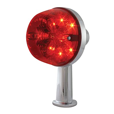 "GG Grand General 77806 Red/Red 2 1/8"" Arm Light (2-1/8"" Spyder LED Honda, 2 Function): Automotive"