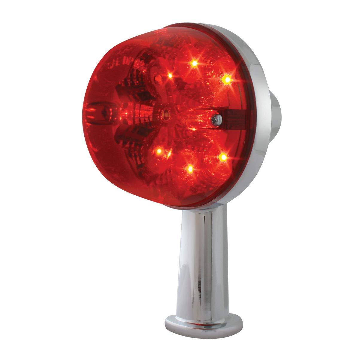 GG Grand General 77806 1/8'' Arm Light (2-1/8'' Spyder LED Red Honda, 2 Function)