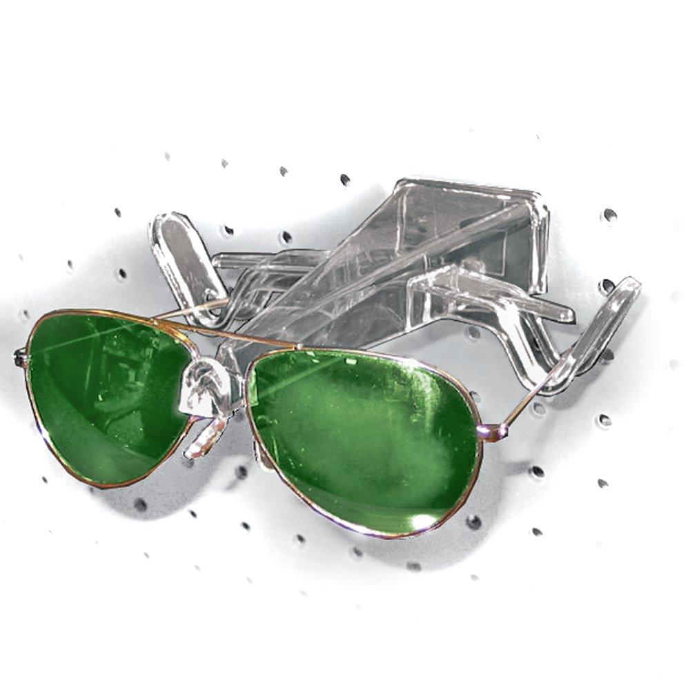 25 Count Azar 700011 Pegboard and Slatwall Eyeglass Holder