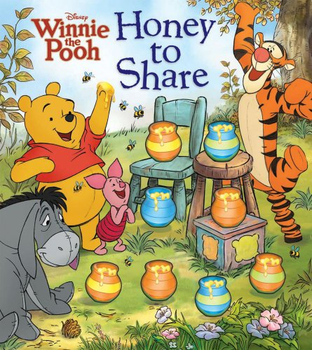Disney Winnie the Pooh Honey to Share (Countdown Book)