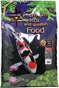 Blackwater Premium Koi and Goldfish Foods Color Enhancing Diet 12.8lb Medium Pellet