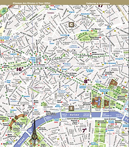 StreetSmart Paris Map by VanDam - City Street Map of Paris, - Import It ...