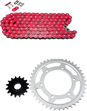 Honda CR125R 2000–2001 Fits NEW Primary Drive Steel Kit /& O-Ring Chain