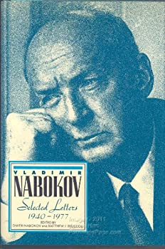 Vladimir Nabokov: Selected Letters 1940-1977 0156936100 Book Cover