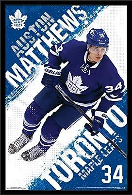 Trends International Wall Poster Toronto Maple Leafs Auston Matthews, 22.375 x 34