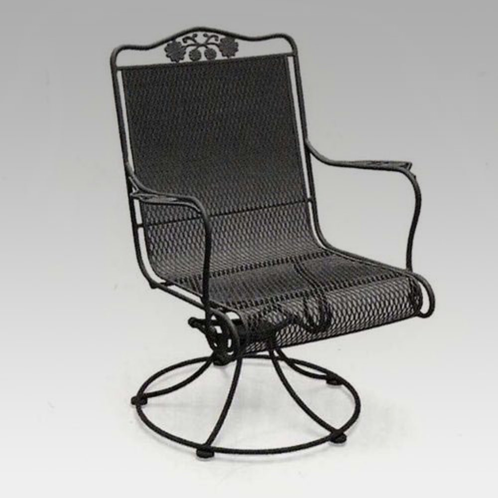 Amazon.com : Woodard Briarwood High Back Swivel Rocker : Patio Rocking  Chairs : Garden U0026 Outdoor