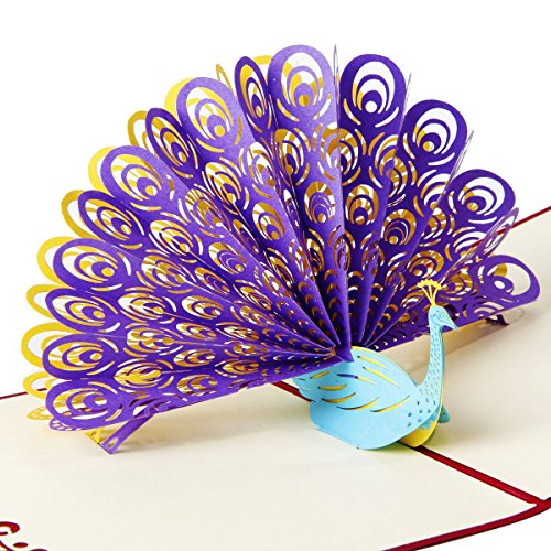 Pop Up 3d Greeting Cards For Wedding Birthday Anniversary More Giftsandwish