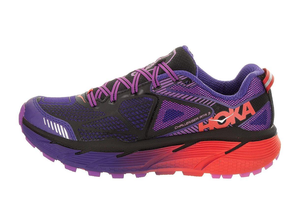 HOKA ONE ONE Challenger ATR 3 Trail Running Shoes – Deep Blue Black – Womens – 7
