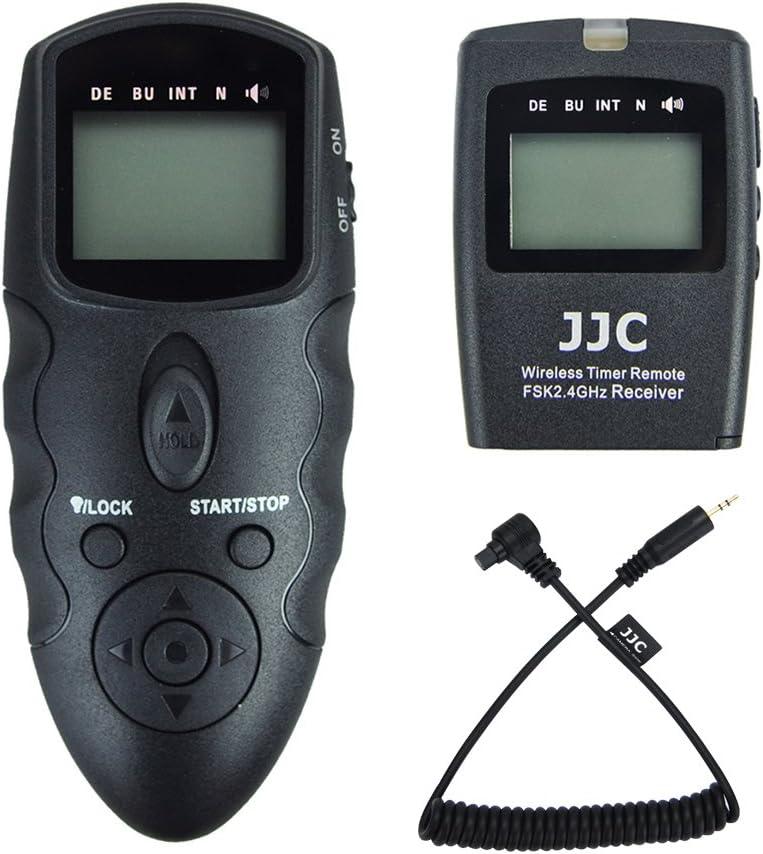 JJC Timer Funk-Fernausl/öser f/ür Sony Alpha A7III II A7 A7RIII II A7R A7R2 A7SII A7S A9 A6500 A6400 A6300 A6000 A5100 A5000 RX100 VI V IV III