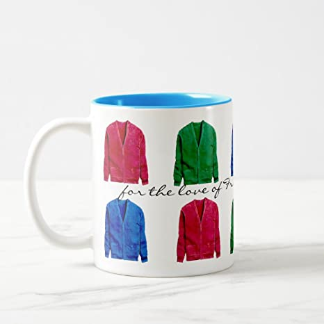 Mr. Rogers Sweater Mug