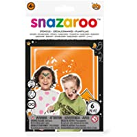 Snazaroo Face Paint Stencils - Halloween, Set of 6