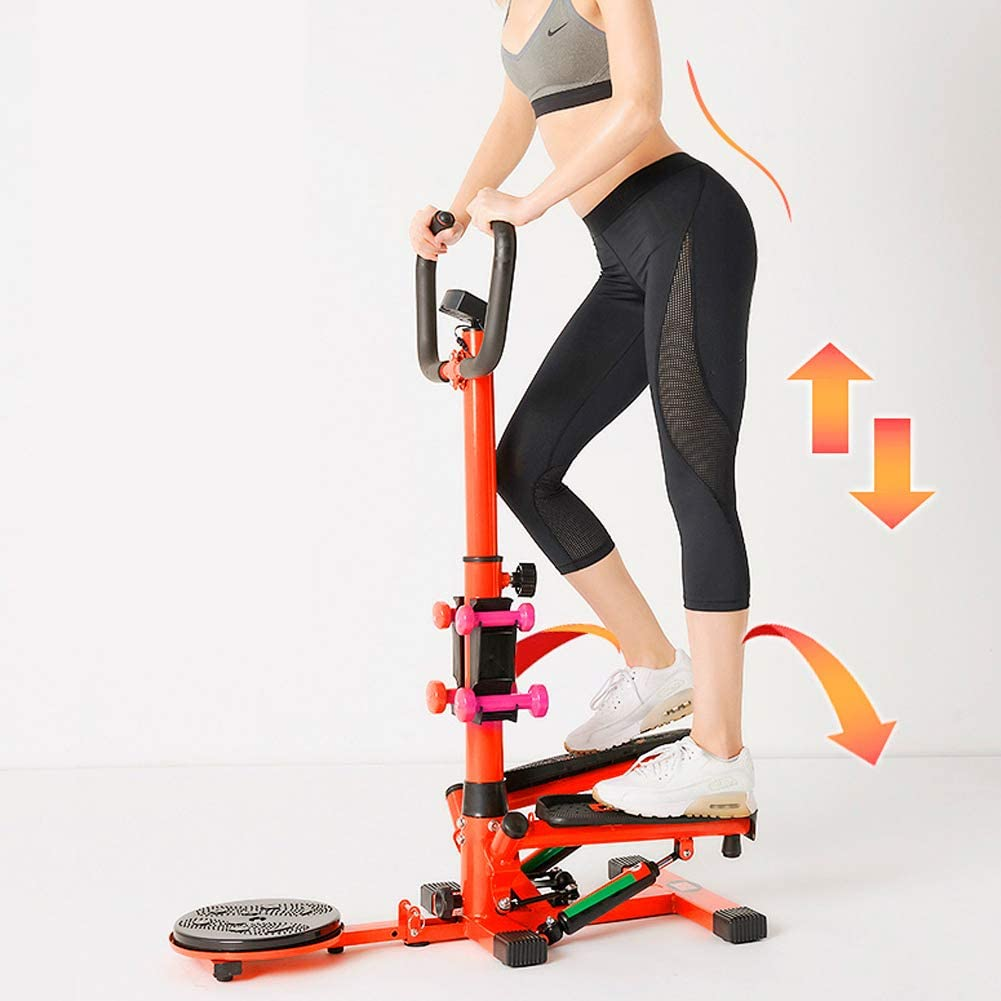 Cocoarm Mini Fitness 4 en 1 avec poign/ée et /écran LCD Multifonction avec Power Ropes Stepper