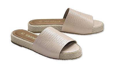 Slippers Cooperative Ladies Spot On Full Textile Slipper Women's Shoes