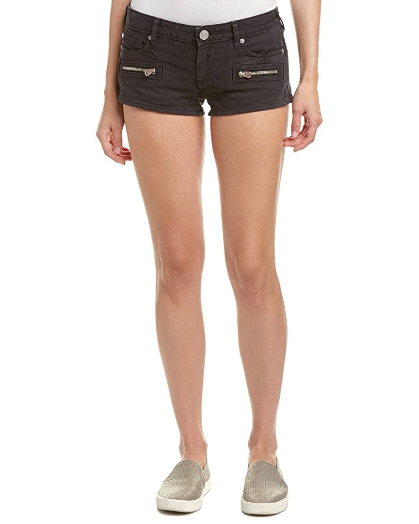 True Religion Women's Joey Zip Denim Shorts