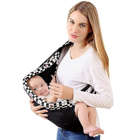 Verstellbar Säugling Baby Tragetasche Tragetuch Schlinge Neugeborenes Babytrage