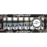 Vallejo Panzer Aces n.º 3 - Juego de Pintura (17 ml)