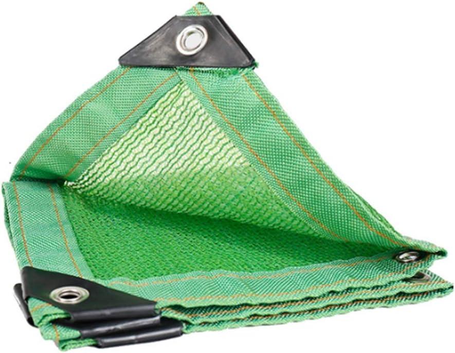 WZHIJUN オーニングシェード遮光ネット 85% 日焼け止め シェードクロス のために使用される 植物カバー、 バルコニー、 園芸、 テラス、 緑 できる カスタムサイズ (Color : Green, Size : 10x10m)