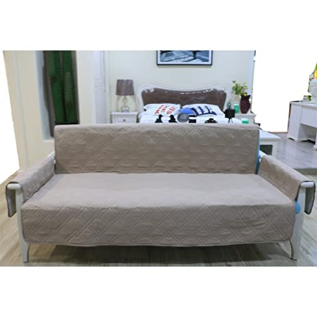 Non Slip 3 Seater Sofa Proctector Double Sided For Dogs / Cats,Pongee  Microfiber