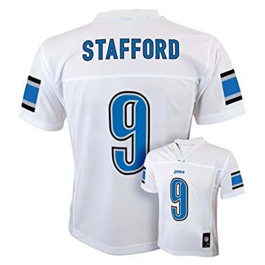 531a2b839 Outerstuff Matthew Stafford Detroit Lions #9 White Youth Mid Tier Jersey  (X-Large