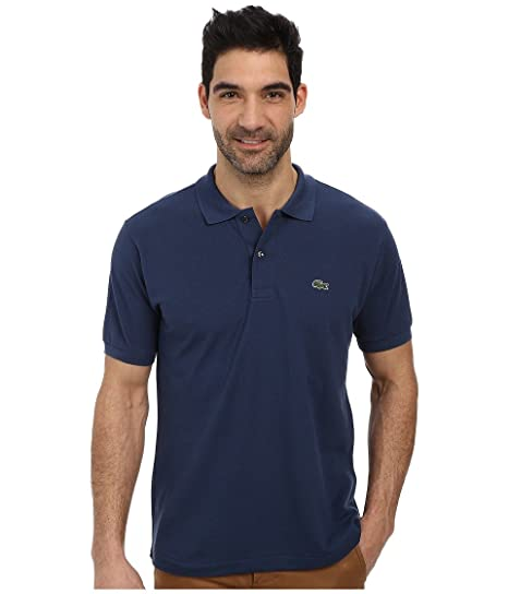 4b444e0c Lacoste Men's L1212 Classic Pique Polo Shirt, Philippines Blue, 9 at Amazon  Men's Clothing store: