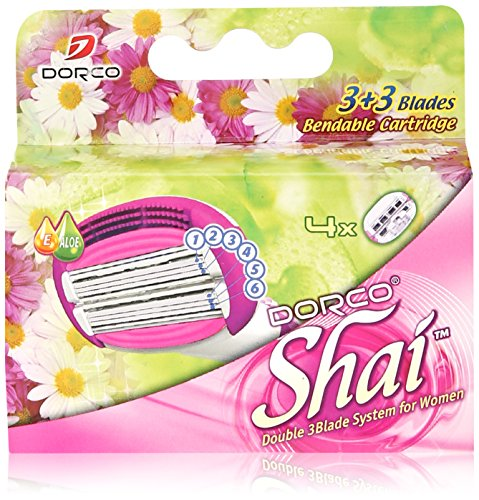 Soft Touch™ 6 Blade Razor System for Women Cartridges