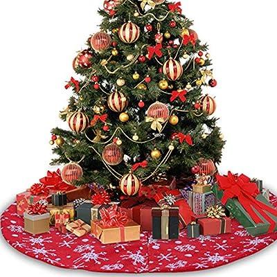 yongqxxkj - Decoración para Falda, árbol de Navidad, 106 cm, Copo ...