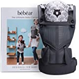 Bebamour Baby Carrier Sling 3 in 1 Ergonomic Baby Carrier Backpack Breathable and Soft Baby Warp for Infant and Toddlers…