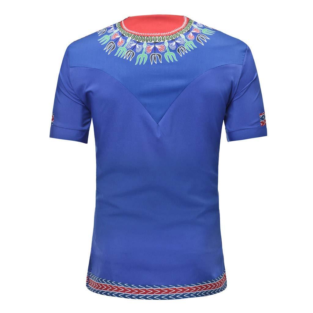 YKARITIANNA - Camiseta de manga corta para hombre, cuello en V ...